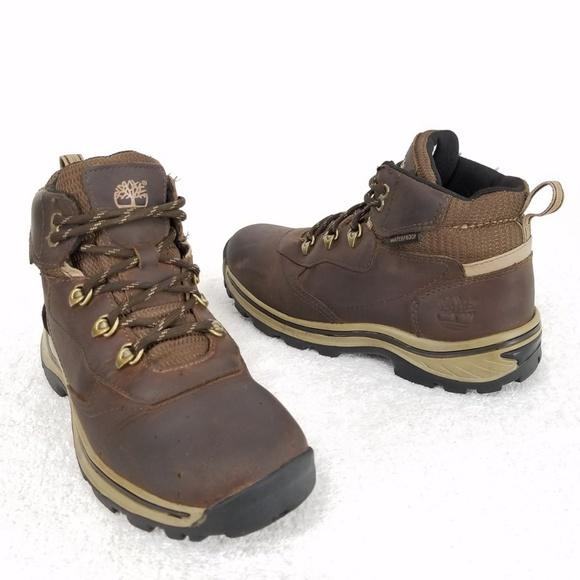 be47a44ec87 Timberland Boys White Ledge Waterproof Hiking Boot